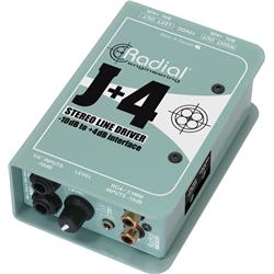 RadialJ4Stereo10dBto4dBAudioConverter